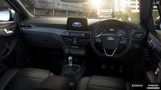 i will ford focus interior